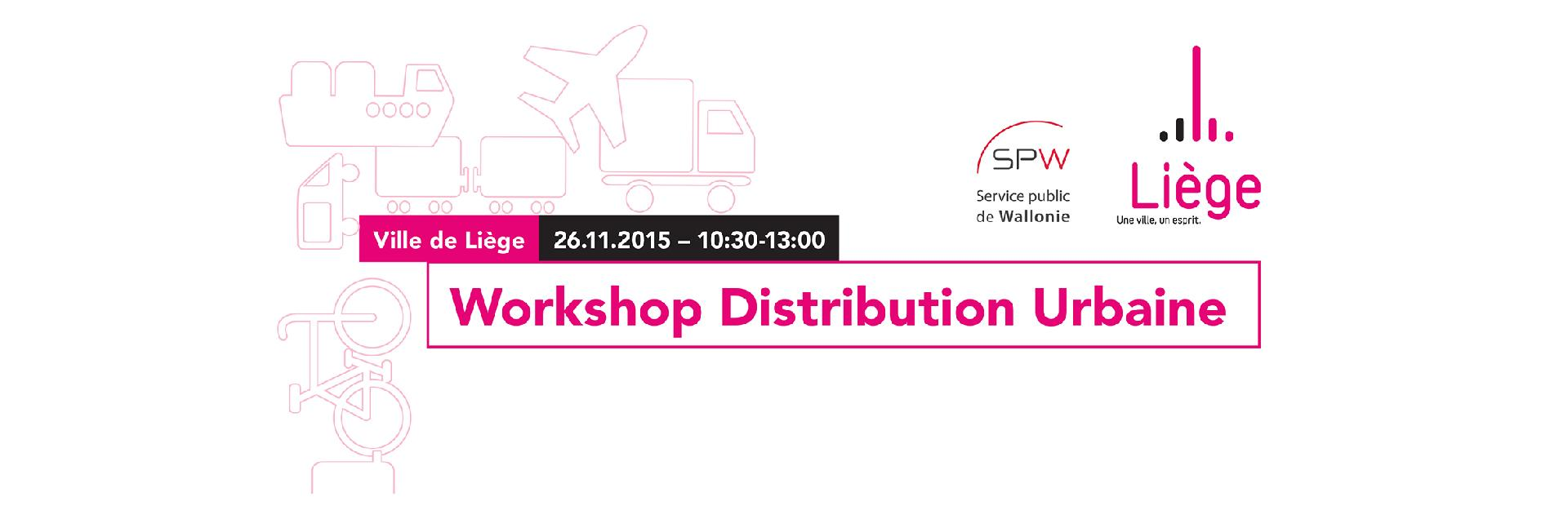 Workshop Distribution Urbaine